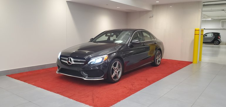 2016 Mercedes-Benz C-Class 300 4MATIC**INTÉRIEUR DESIGNO VALEUR 5500$**