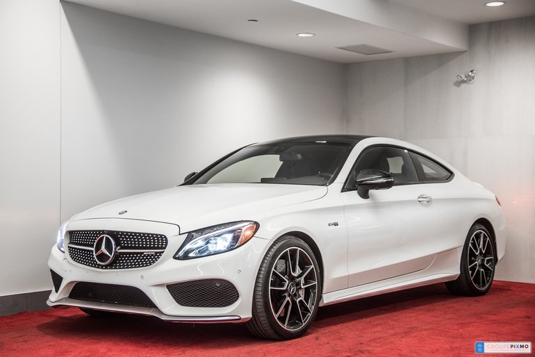 Pre-owned 2017 Mercedes-Benz C-Class C43 AMG COUPE **PREMIUM