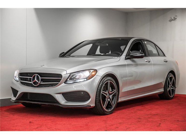 2017 Mercedes-Benz C300 4MATIC **ENS PREMIUM+NIGHT PACKAGE**