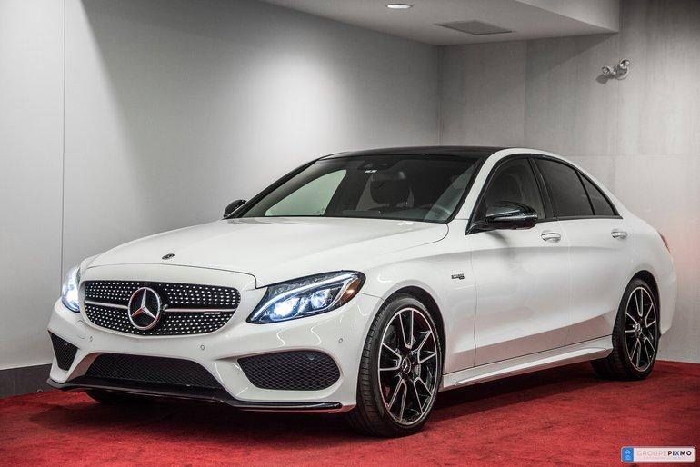 2018 Mercedes-Benz C43 AMG C43 AMG 4MATIC**PREMIUM+3 MENSUALITÉS GRATUITES**