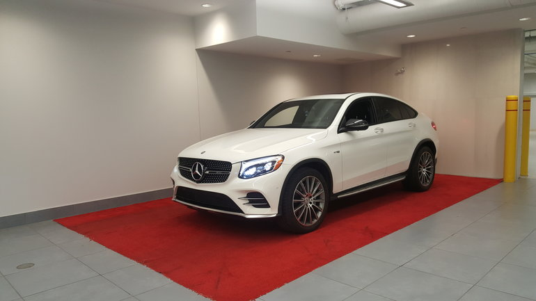 2017 Mercedes-Benz GLC-Class 2017 Mercedes-Benz GLC - 4MATIC 4dr AMG GLC 43 Cpe