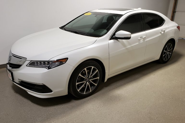 2015 Acura TLX AWD Htd Lthr Camera Loaded Clean Low Kms