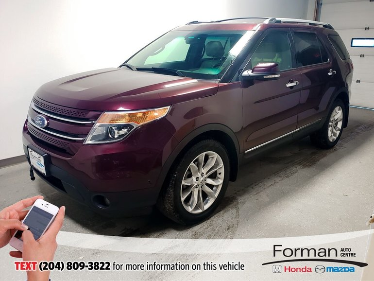 2011 Ford Explorer Limited CLEARANCE Htd Lthr Nav Btooth AC Seat