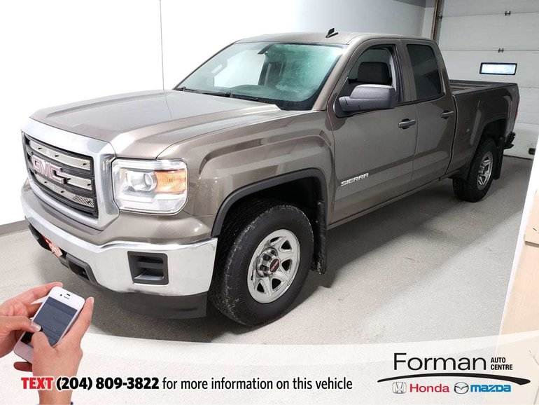 2014 GMC Sierra 1500 4x4 Low Kms Local Tow Pack Quad Cruise