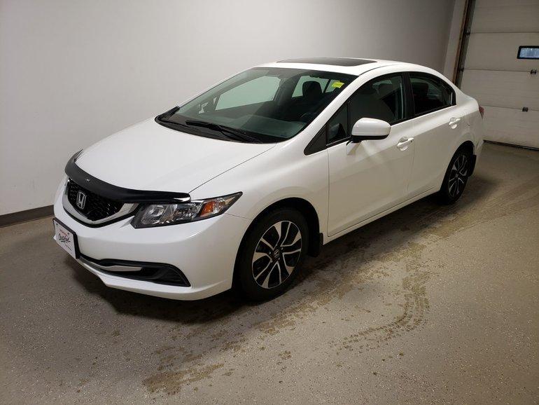 2014 Honda Civic Sedan EX|Certified|Extended Warranty
