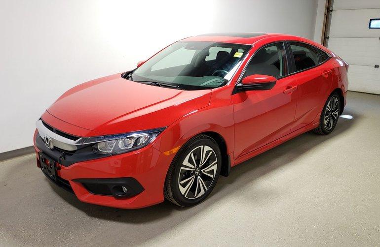 2017 Honda Civic Sedan EX-T|Certified|Extended Warranty