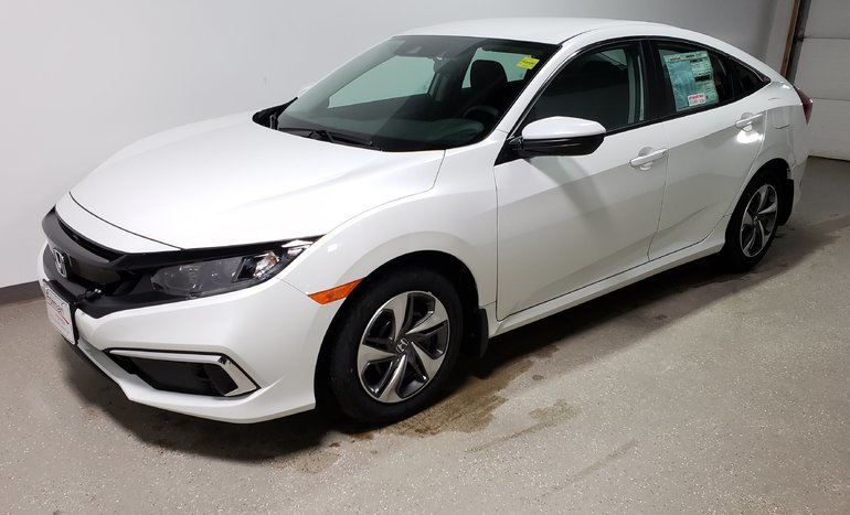 2019 Honda Civic LX Demo Htd Seats Camera Save