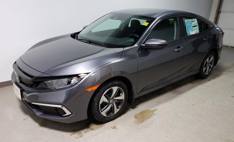 2019 Honda Civic LX Demo Htd Seats Camera Sensing Save