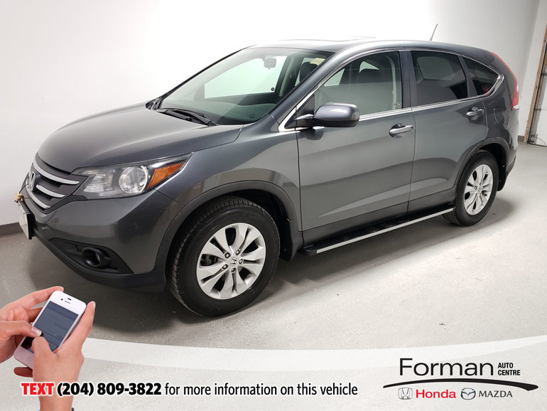 2013 Honda CR-V EX-L|Warranty|Running Boards|