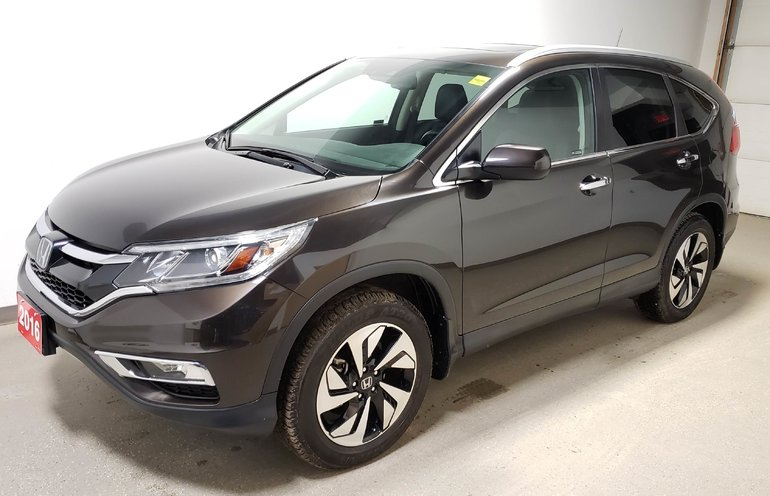 2016 Honda CR-V Touring AWD Certified - Just arrived