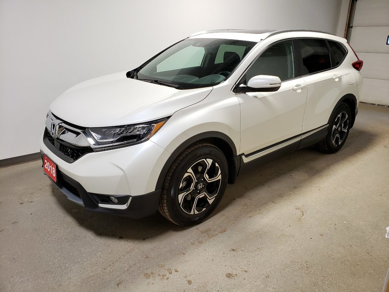 2018 Honda CR-V Touring Certi Rmt Star Htd Lthr P.Tailgate Low Km