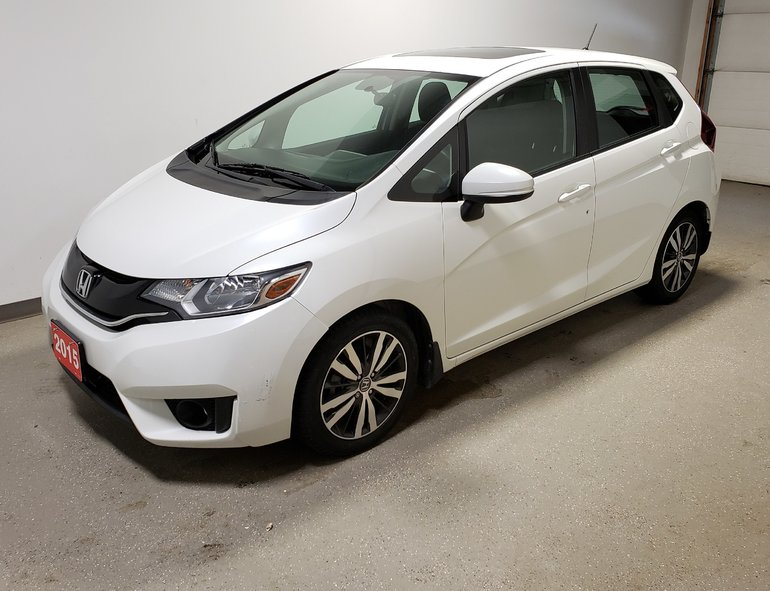 2015 Honda Fit EX 2 Sets Tires Htd Seats Camera Sunroof Btooth