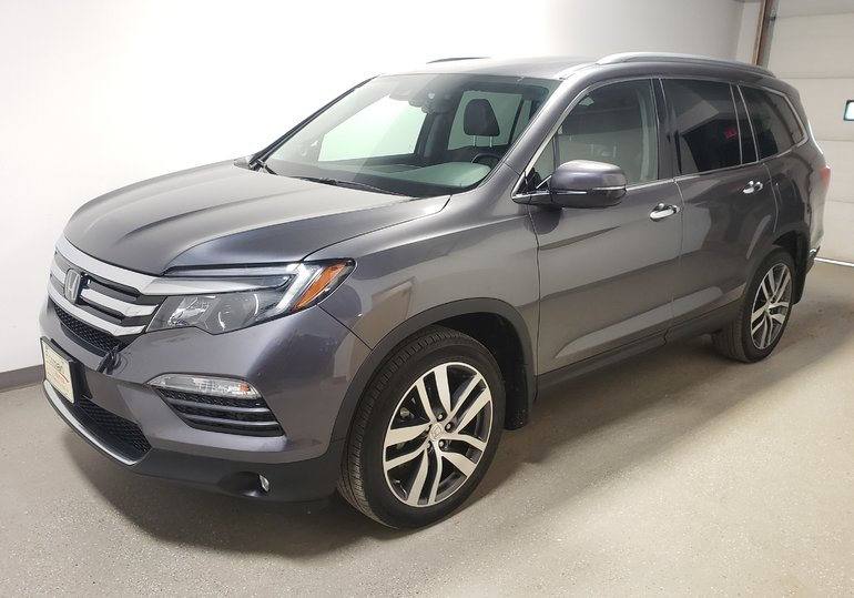 2017 Honda Pilot Touring Certified Htd Lthr Cld Seats Pwr Tail DVD