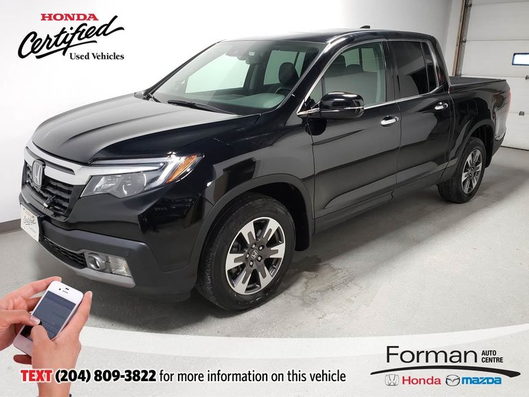2017 Honda Ridgeline Touring Rmt Start Certified- J. Arrived