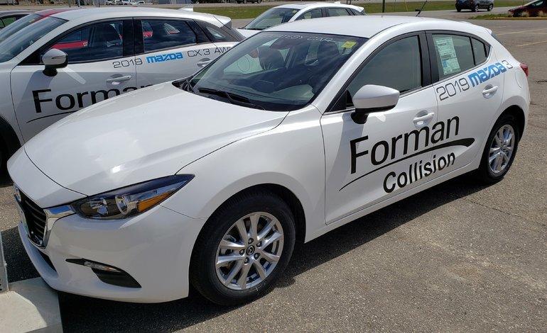 2018 Mazda Mazda3 Sport GS Courtesy Car Save Loaded Fun