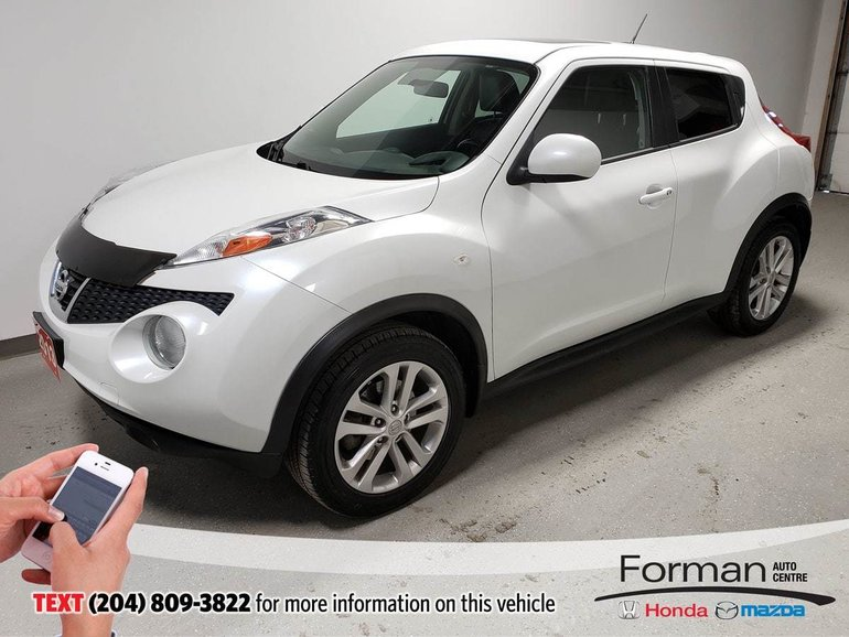 2013 Nissan Juke SL AWD Rmt Start Navi Btooth Local Htd Lthr