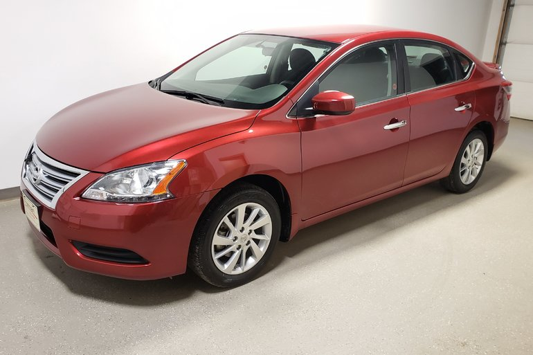 2015 Nissan Sentra Low Kms Htd Seats Rmt Start Camera Clean