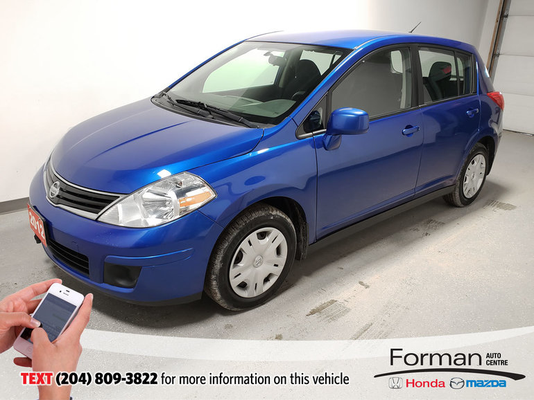 2012 Nissan Versa SL Low Kms Traction Control Clean Local 50MPG