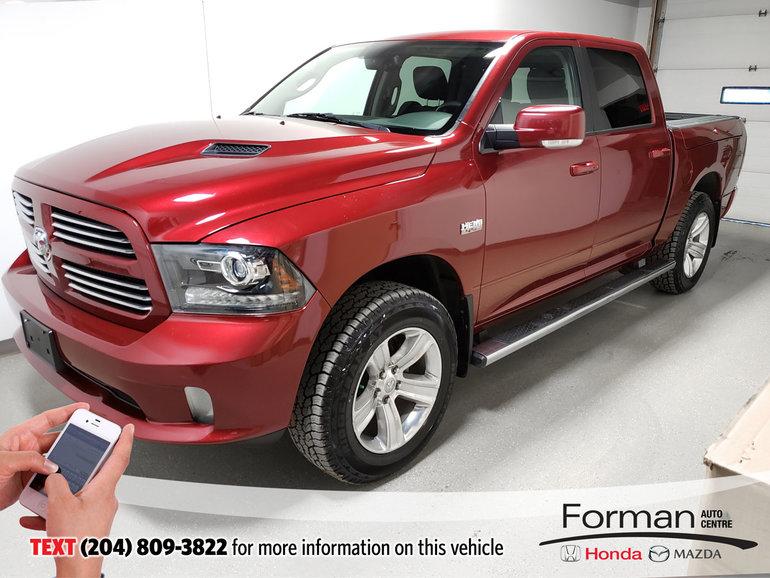 2013 Ram 1500 Sport|Warranty|Loaded
