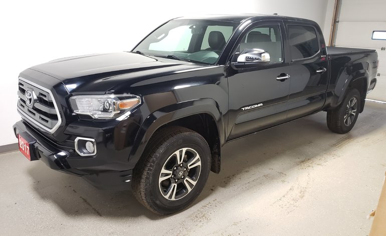 2017 Toyota Tacoma Limited Rmt Start Htd Lthr Blindspot T.Cover Cam