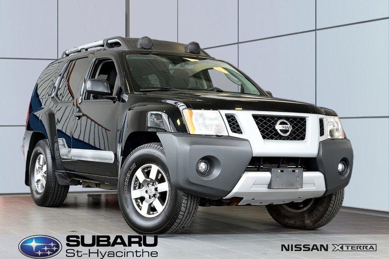 Nissan Xterra PRO-4X, excellente condition, unique 2011