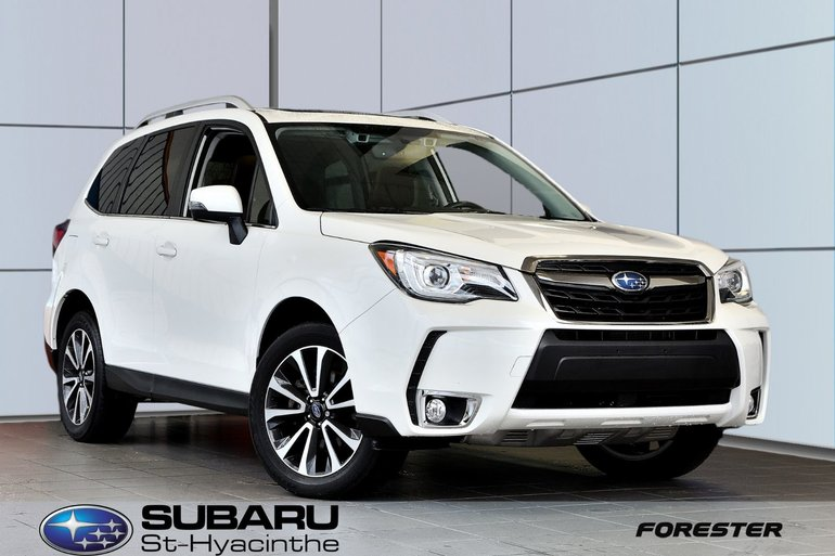 2017 Subaru Forester Limited, cuir brun, toit panoramique, GPS