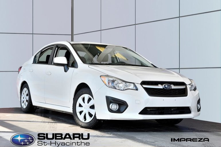 2014 Subaru Impreza 2,0 traction intégrale, bas kilométrage