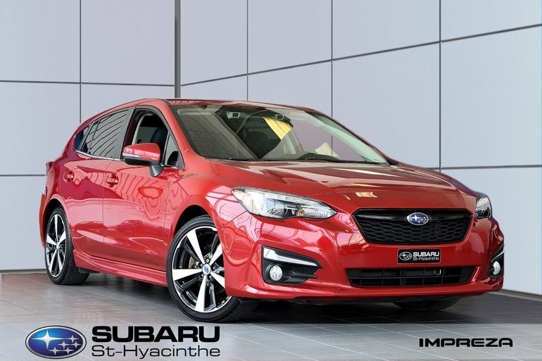 2017 Subaru Impreza Sport-tech eye sight, cuir, toit ouvrant, GPS