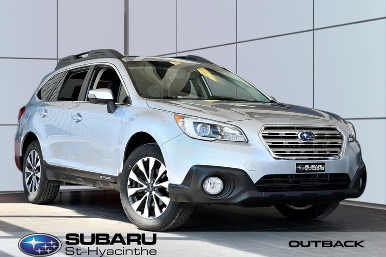 2015 Subaru Outback 3.6R Limited, cuir, toit ouvrant, GPS