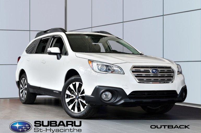 Subaru Outback Limited, cuir, toit, GPS 2016