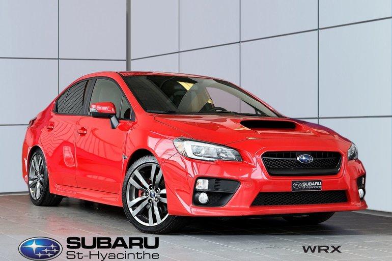 2017 Subaru WRX Sport-tech, cuir, toit ouvrant, GPS