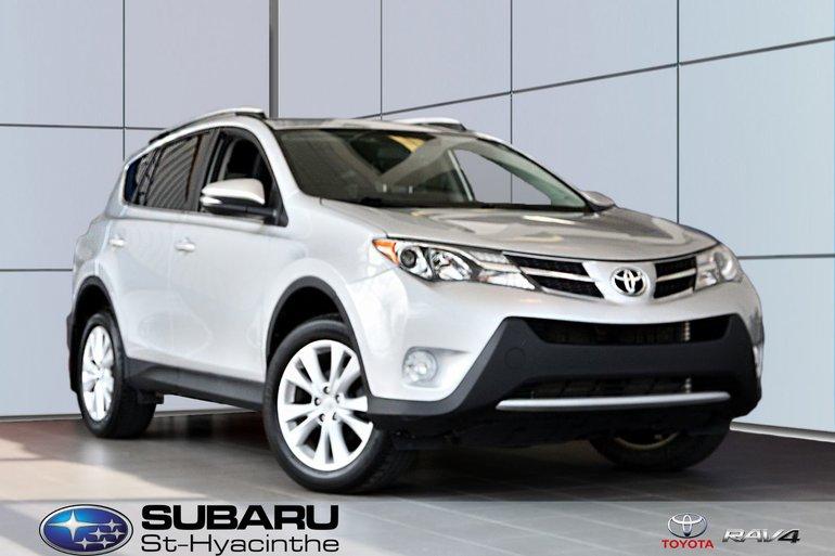 Toyota RAV4 Limited, cuir, toit, AWD, freins et pneus neufs 2013