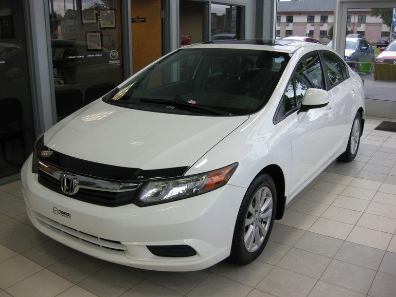 2012 Honda Civic Sdn EX MAGS TOIT A/C