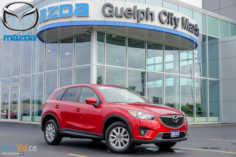 Guelph Auto Mall >> Guelph City Mazda Pre Owned 2014 Mazda Cx 5 Gs Fwd At For Sale