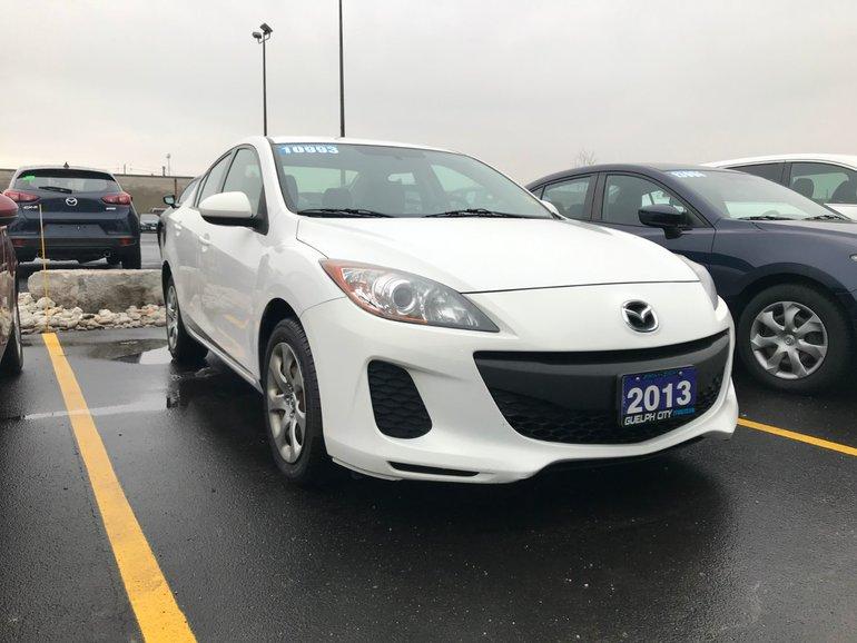 2013  Mazda3 GX 5sp