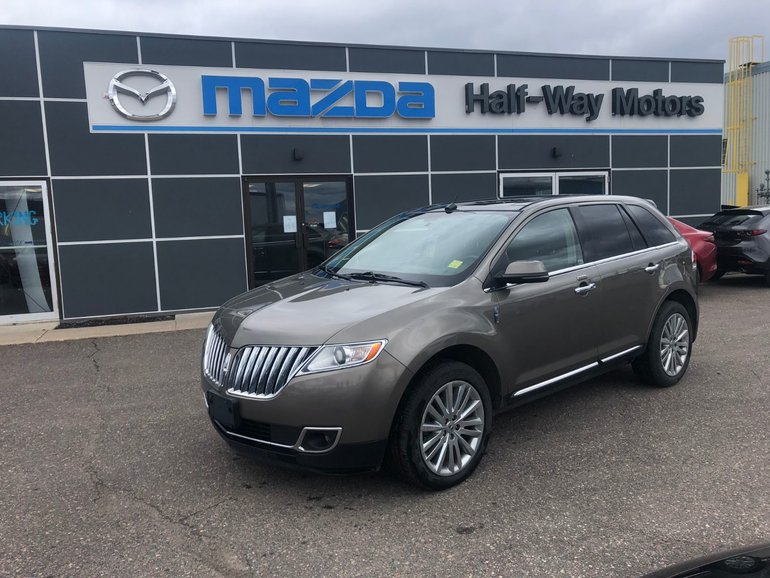 Lincoln Mkx Lease >> Half-Way Motors Mazda | Pre-owned 2012 Lincoln MKX 4D ...