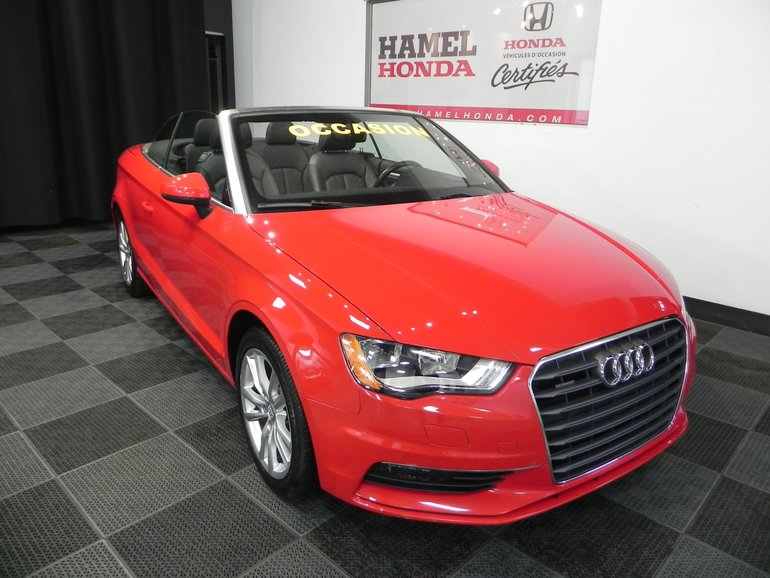Audi A3 A Vendre >> Used 2016 Audi A3 Komfort Convertible For Sale 32495 0