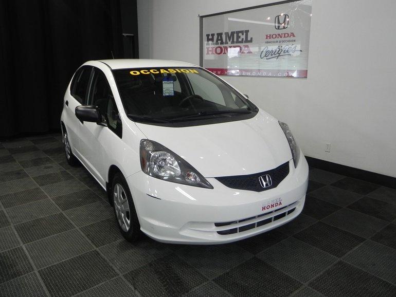 2014 Honda Fit DX-A Automatique