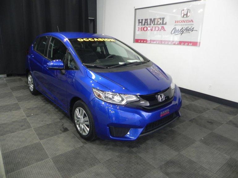 Honda Fit LX Automatique 2016