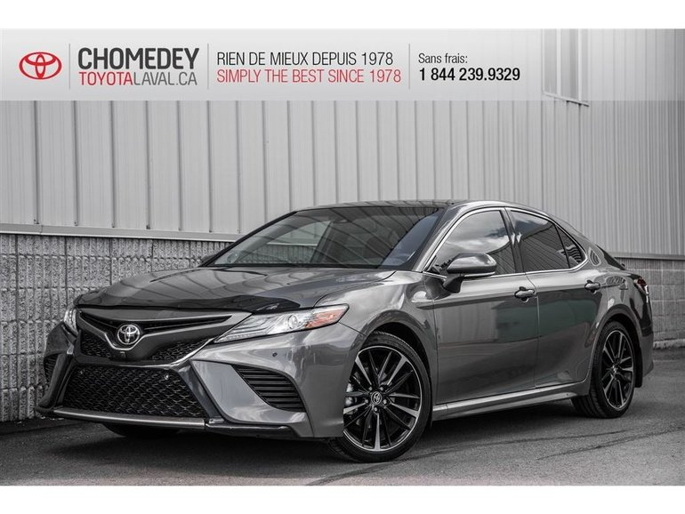 2018 Toyota Camry XSE V6 CUIR MAGS
