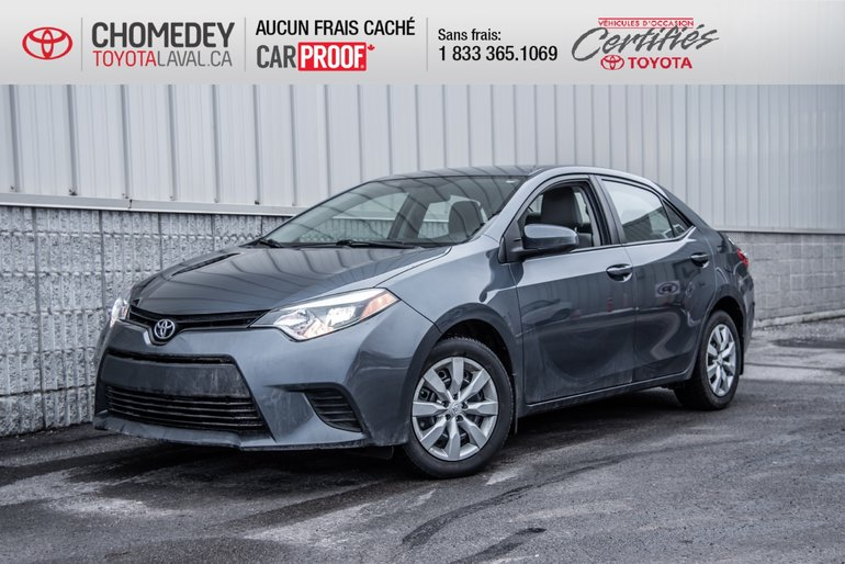 2014 Toyota Corolla LE AUTOMATIQUE FULL