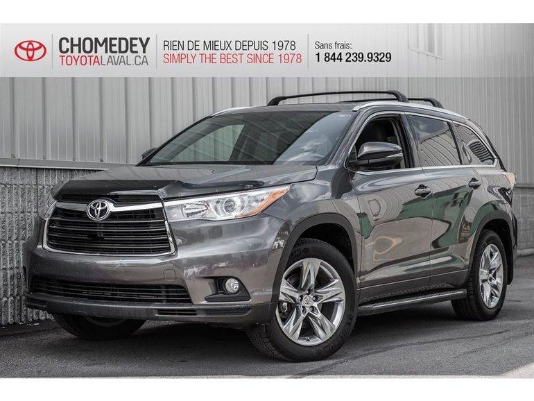 Toyota Highlander Limited AWD FULL 2015