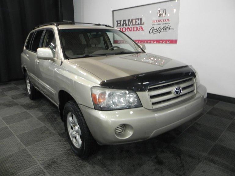 2005 Toyota Highlander 4X4
