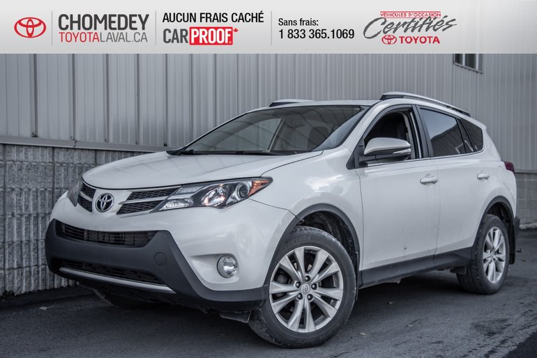 2013 Toyota RAV4 LIMITED CUIR TOIT MAGS GPS AWD AUTOMATIQUE