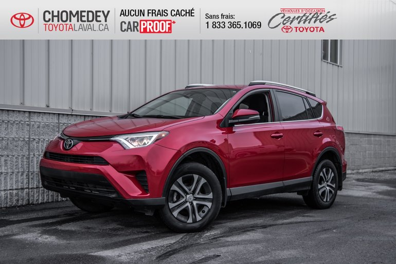2017 Toyota RAV4 LE AWD MAGS AUTOMATIQUE FULL