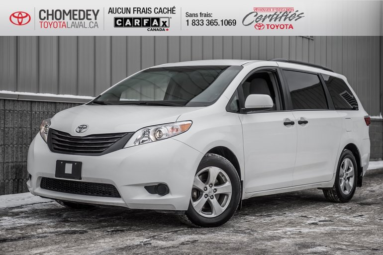 2017 Toyota Sienna V6 7 PASSAGERS MAGS AUTOMATIQUE
