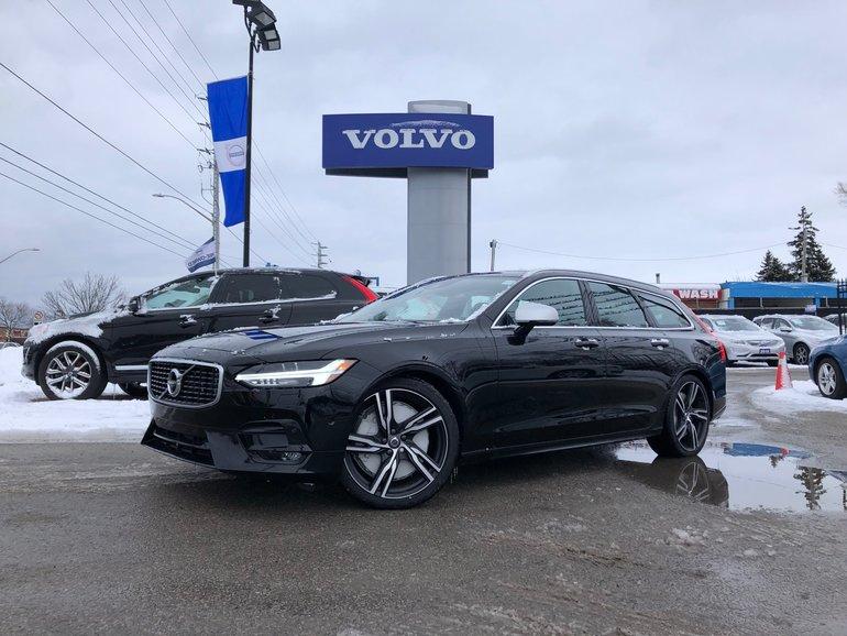 2019 Volvo V90 T6 AWD R-Design - N23928