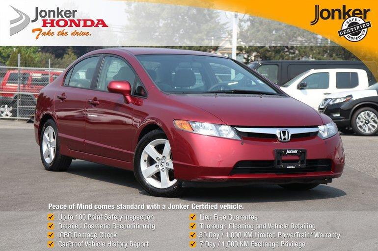2007 Honda Civic Sedan LX At