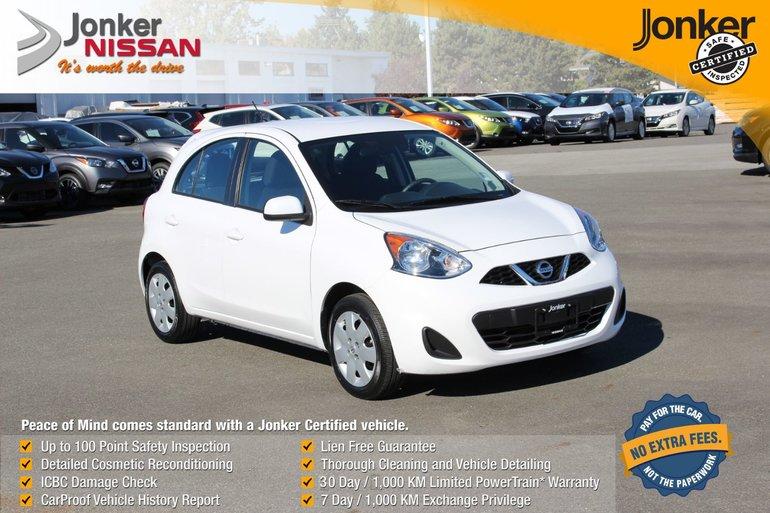 2016 Nissan Micra 1.6 SV at