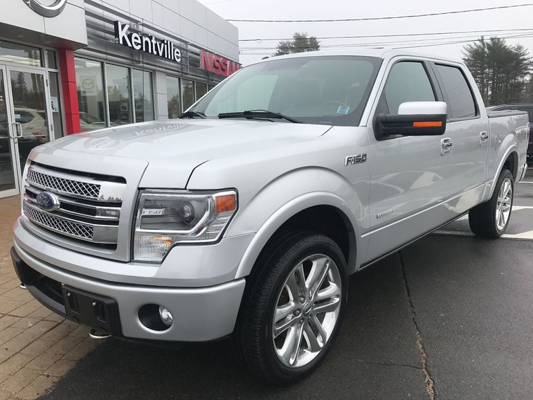 2014 Ford F150 For Sale >> Used 2014 Ford F 150 Limited For Sale 39 800 Kentville